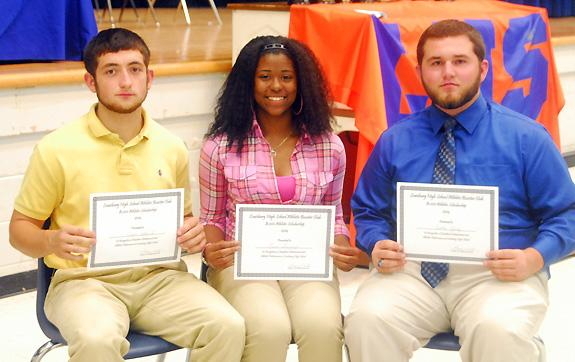 SUPERB SCHOLAR-ATHLETES