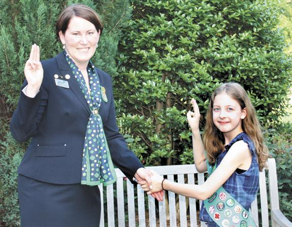 <i>A lifesaver! Bunn Girl Scout honored for rescuing cousin</i>