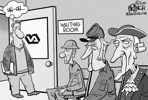 Editorial Cartoon: The VA