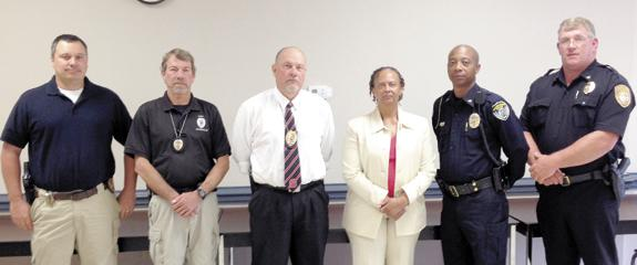 <i>County's police chiefs join forces to fight crime</i>