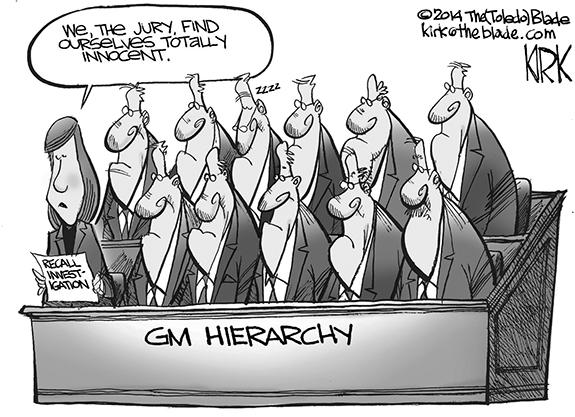 Editorial Cartoon: GM