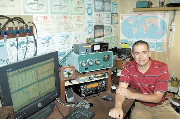 Youngsville Ham radio buff challenges 'best in the world'