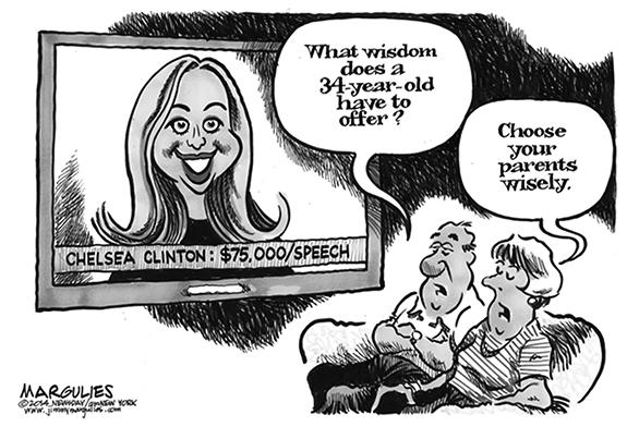 Editorial Cartoon: Chelsea