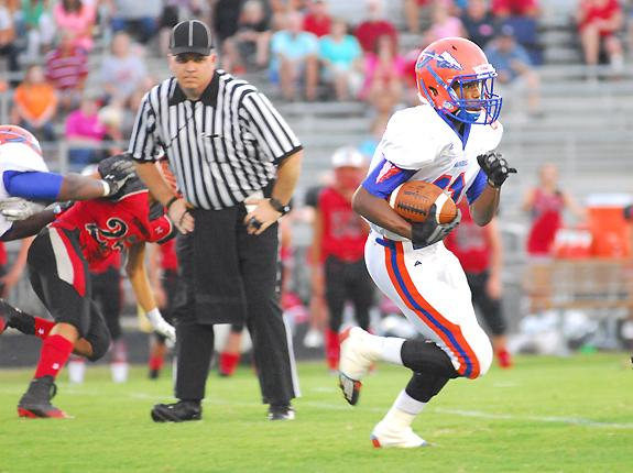 Louisburg Runs Past Panthers