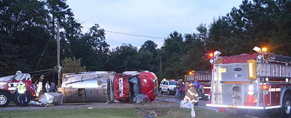 Breaking News: Justice fireman killed, another hurt in truck crash