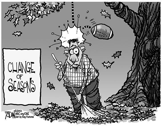 Editorial Cartoon: Seasons