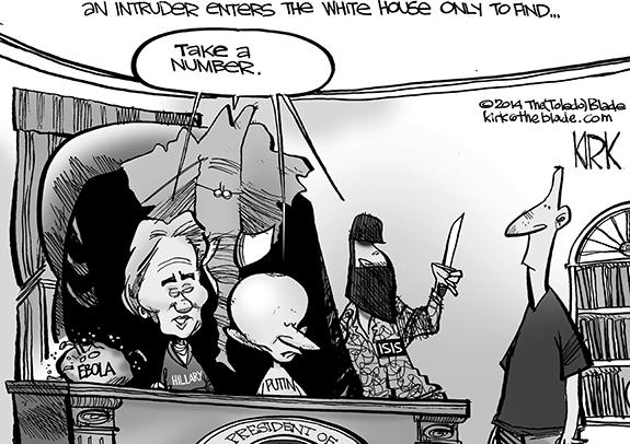 Editorial Cartoon: Take A Number