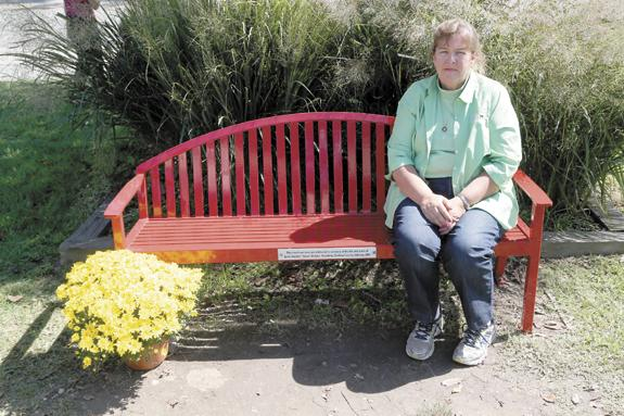 Bench honors Steve Mobley's legacy