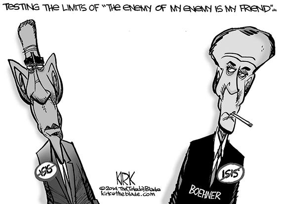 Editorial Cartoon: Testing Limits
