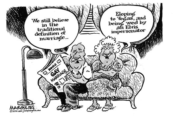 Editorial Cartoon: Marriage