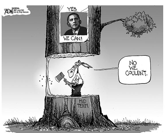 Editorial Cartoon: No We Couldn't