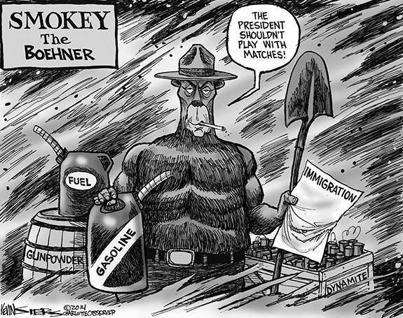 Editorial Cartoon: Smokey