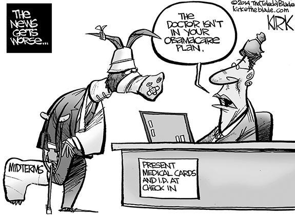 Editorial Cartoon: Obamacare