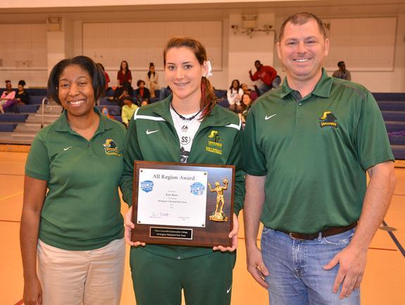 Reese earns Region X honor