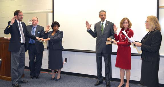School board reorganizes; gets 'clean' audit report
