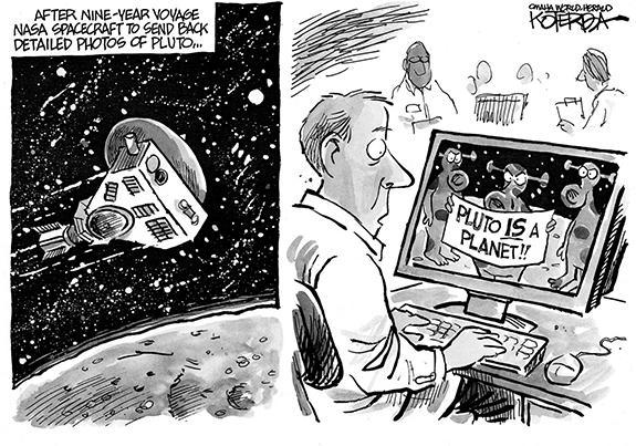 Editorial Cartoon: Pluto