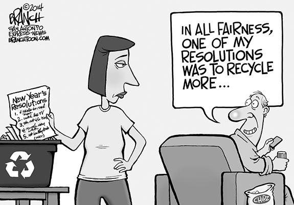 Editorial Cartoon: Recycle