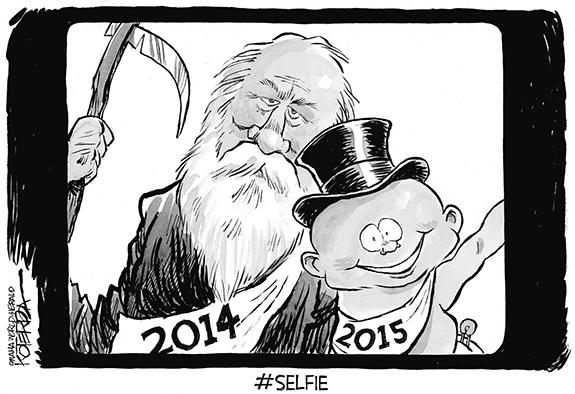 Editorial Cartoon: Selfie