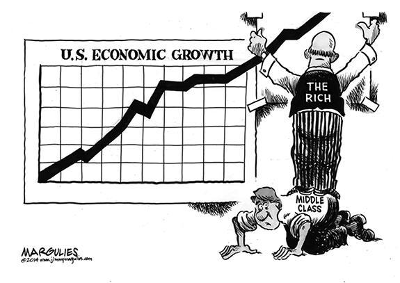 Editorial Cartoon: The Economy