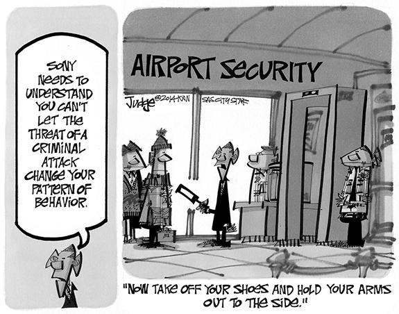 Editorial Cartoon: Sony
