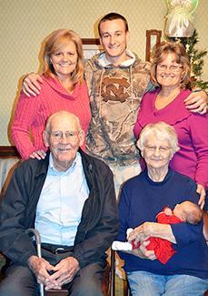 <i>Five generations!</i>