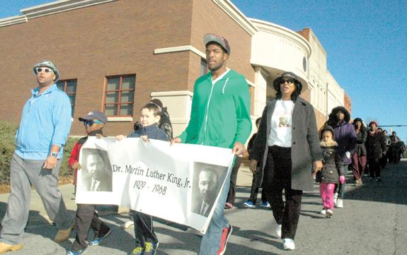 <i>King's legacy is a call to service, speaker says</i>
