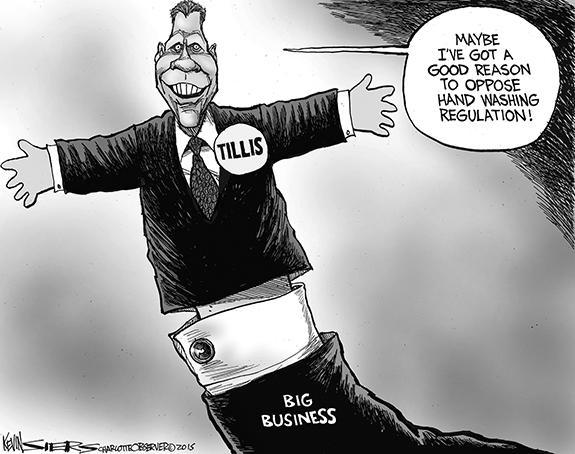 Editorial Cartoon: Tillis