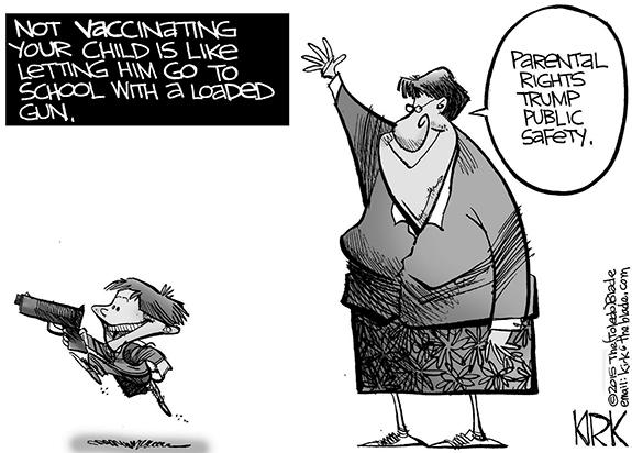 Editorial Cartoon: Parental Rights