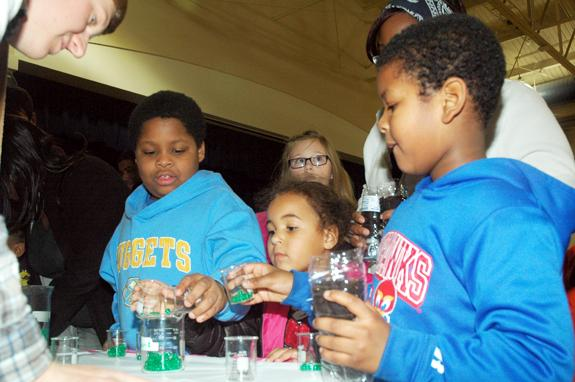 <i>Kids discover science and math can be fun! 1</i>