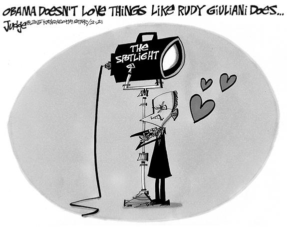 Editorial Cartoon: Rudy