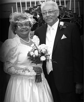 <i>Couple celebrates golden anniversary</i>