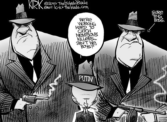 Editorial Cartoon: Putin