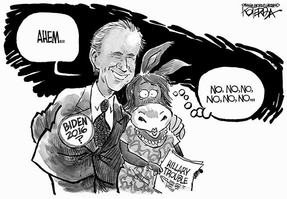Editorial Cartoon: Joe Biden