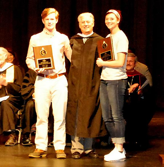 Allison, Doyle saluted at LC
