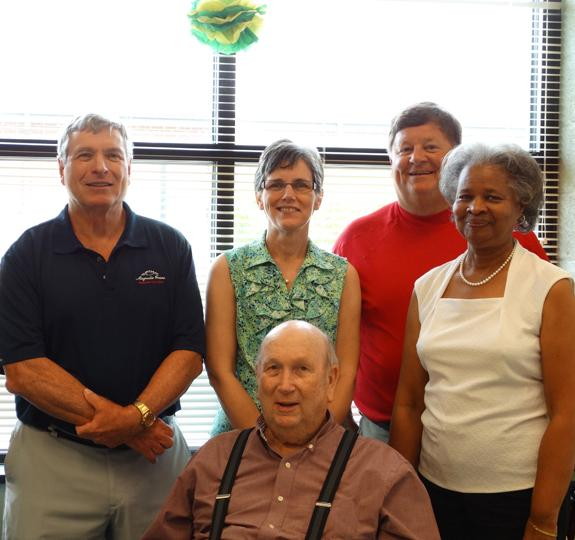 <i>Retirement sendoff in Bunn!</i>