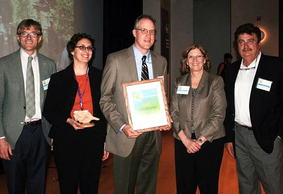 <i>Tar conservancy's efforts lauded</i>