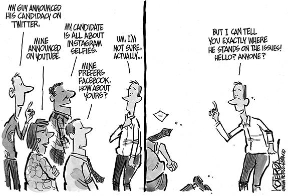 Editorial Cartoon: Issues