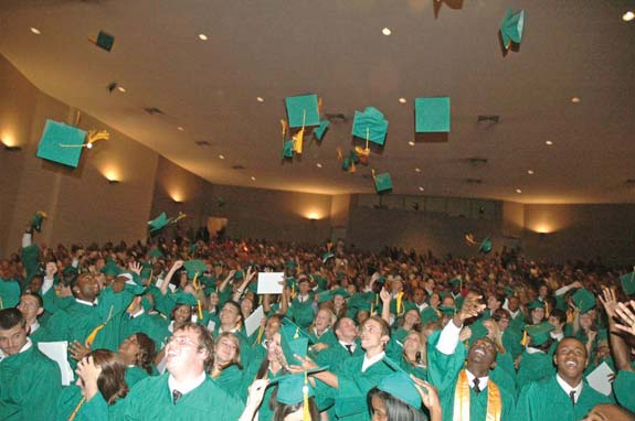 <i>Class of 2008 celebrates</i>