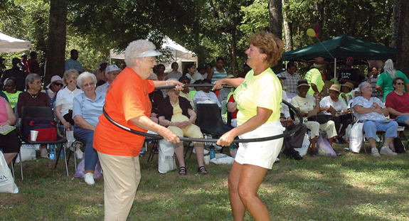 <i>Seniors live it up in the park</i>