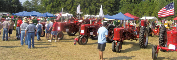 GEARING UP FOR THE TRACTOR SHOW