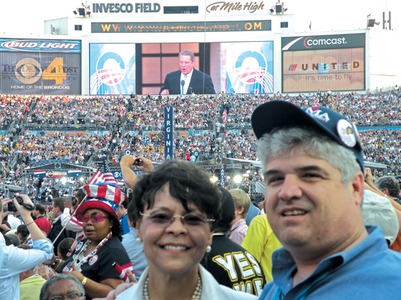 BARACK OBAMA: Local delegation watches history in the making