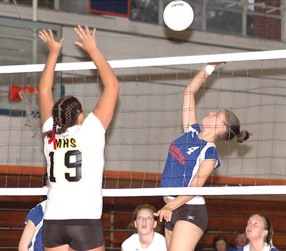 Lady Warriors fall in playoffs