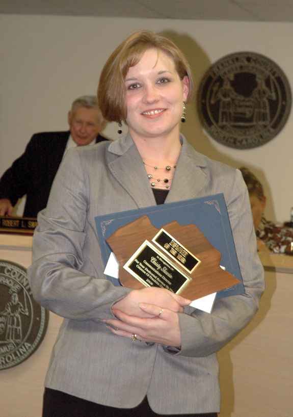 County Employee of the Year