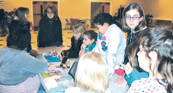 Girl Scout cookie sale begins