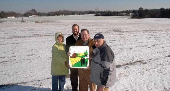Harris farm enters into 110-acre easement deal