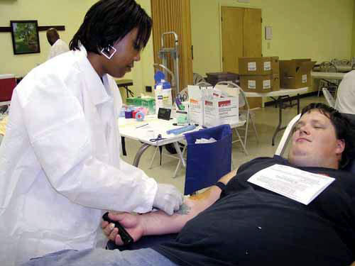 Red Cross blood drive goal exceeded in Louisburg