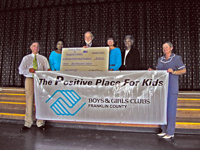 UW gives Boys & Girls Club $5,000 donation to help open