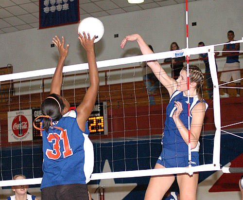 PATRIOTS PUSH LHS OUT OF VOLLEYBALL PLAYOFFS