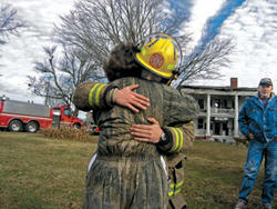 Historic home destroyed by fire