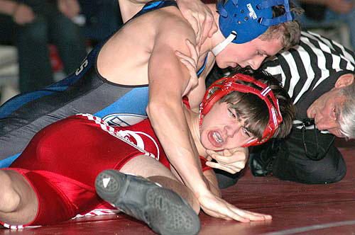 RED RAMS STOPPED ON MAT BY WAKE-FOREST ROLESVILLE